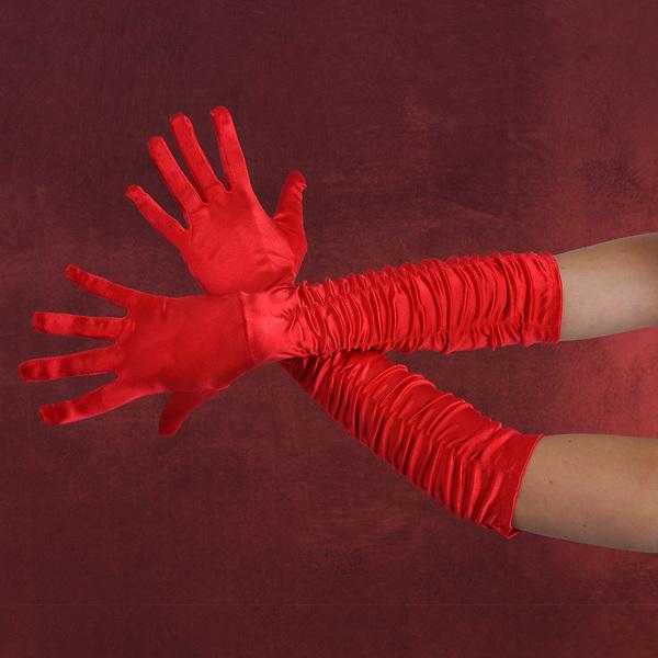 Galahandschuhe rot
