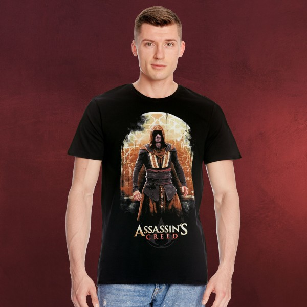 Assassins Creed - Callum Lynch T-Shirt schwarz