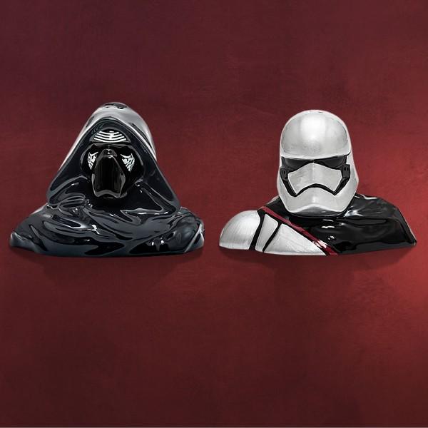 Star Wars - Kylo Ren und Captain Phasma Salz & Pfefferstreuer