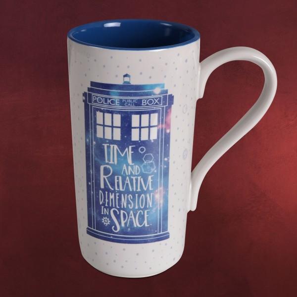 Doctor Who - Tardis Galaxy Tasse XXL
