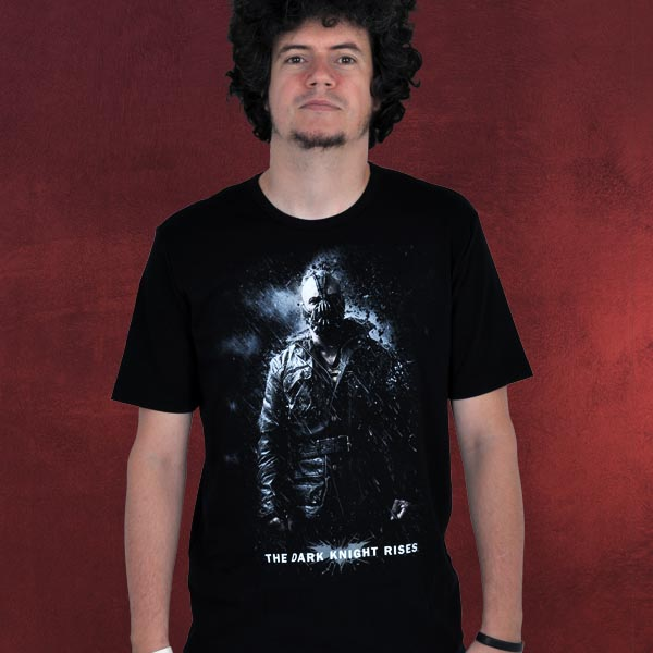 Batman - The Dark Knight Rises - Knochenbrecher Bane - Premium T-Shirt