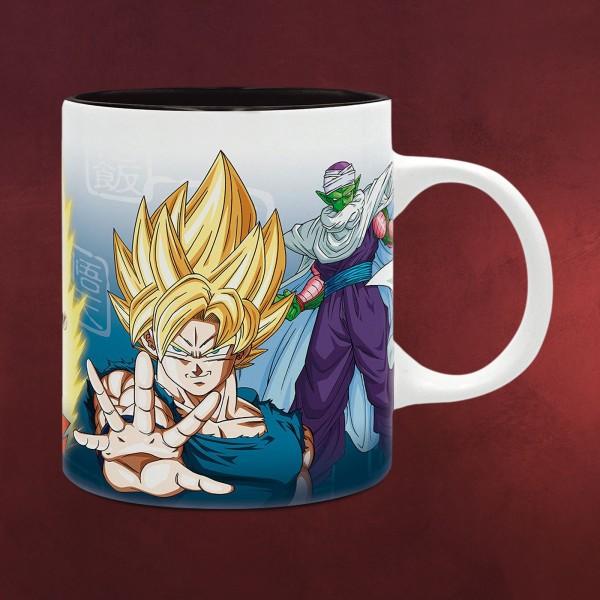 Dragon Ball Z - Saiyajins und Piccolo Tasse