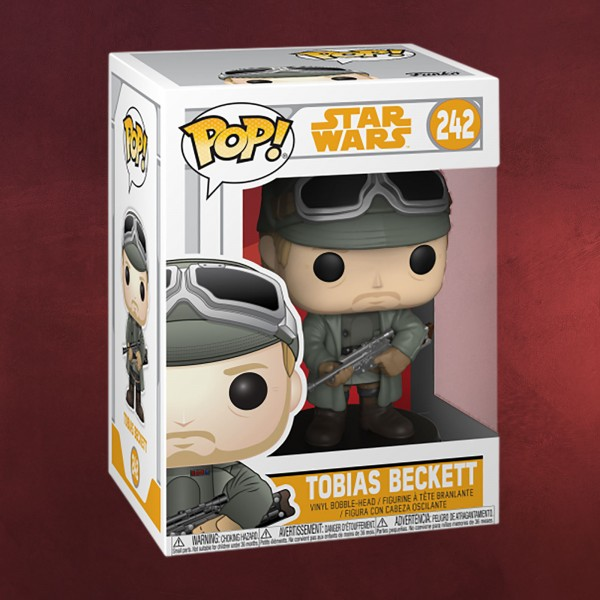 Star Wars - Tobias Beckett Funko Pop Wackelkopf-Figur