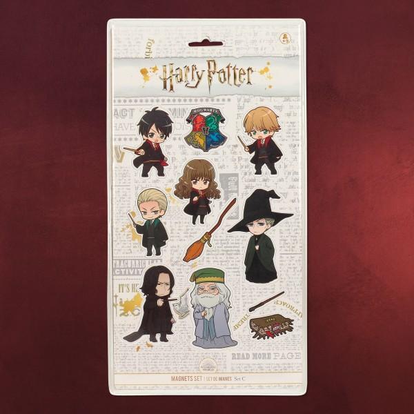 Harry Potter - Chibi Magnet-Set