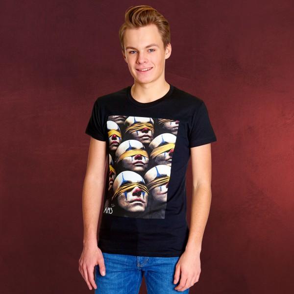 American Horror Story - Blind Clowns T-Shirt schwarz
