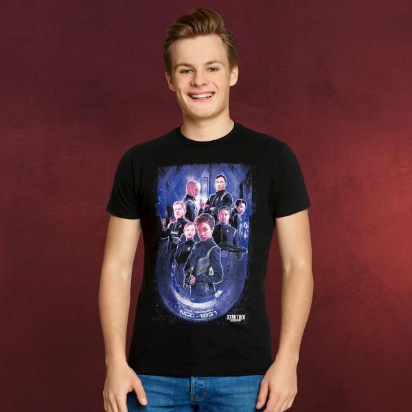 Star Trek - Discovery Crew T-Shirt schwarz