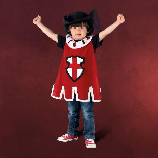 Roter Musketier - Kostüm Kinder