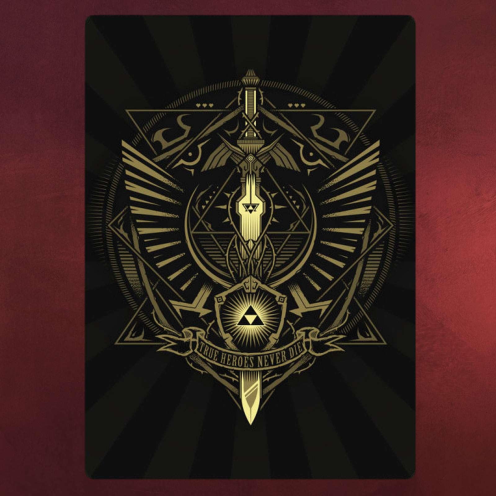 Hyrule Heroes Metall Poster für Zelda Fans | Elbenwald