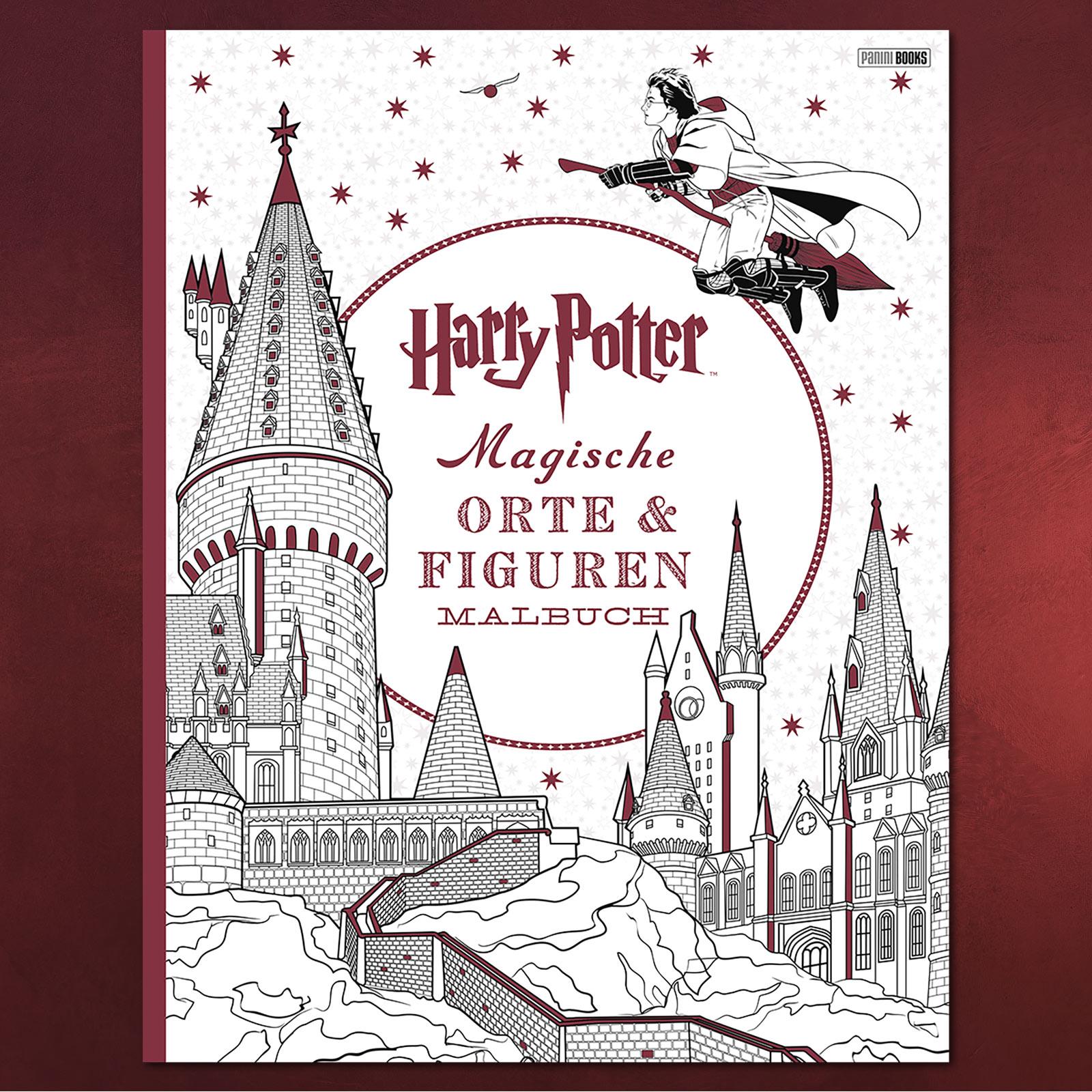 Harry Potter - Magische Orte und Figuren Malbuch   Elbenwald