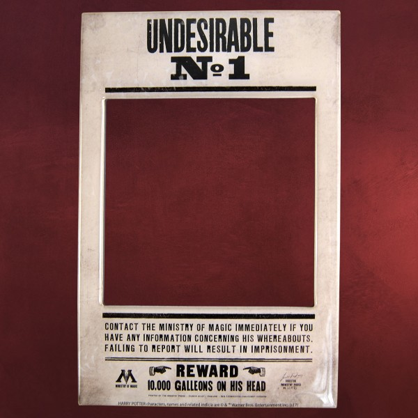 Harry Potter - Undesirable No. 1 Magnet