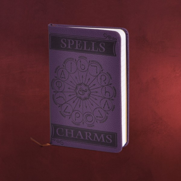 Harry Potter - Spells and Charms Mini Notizbuch