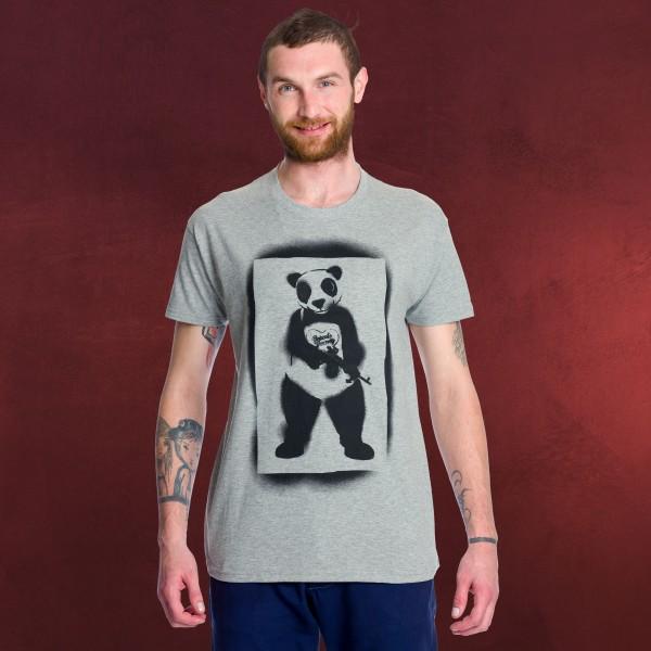 Suicide Squad - Panda Man T-Shirt grau