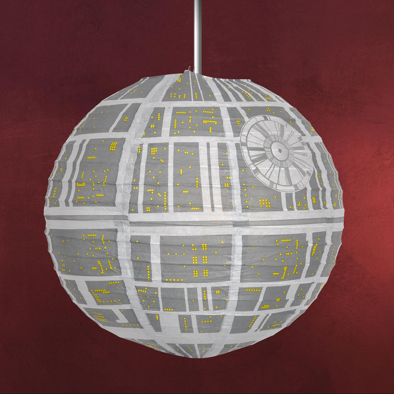 star wars - todesstern lampenschirm | elbenwald