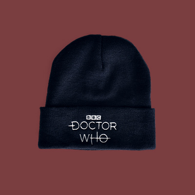 Doctor Who - Logo Mütze