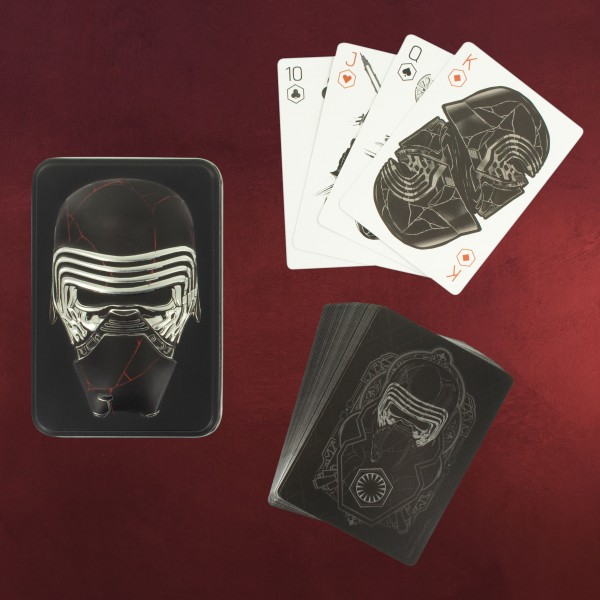Star Wars - Kylo Ren Kartenspiel in Metallbox