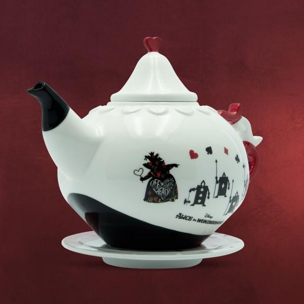 Alice im Wunderland - Herzkönigin Teekanne