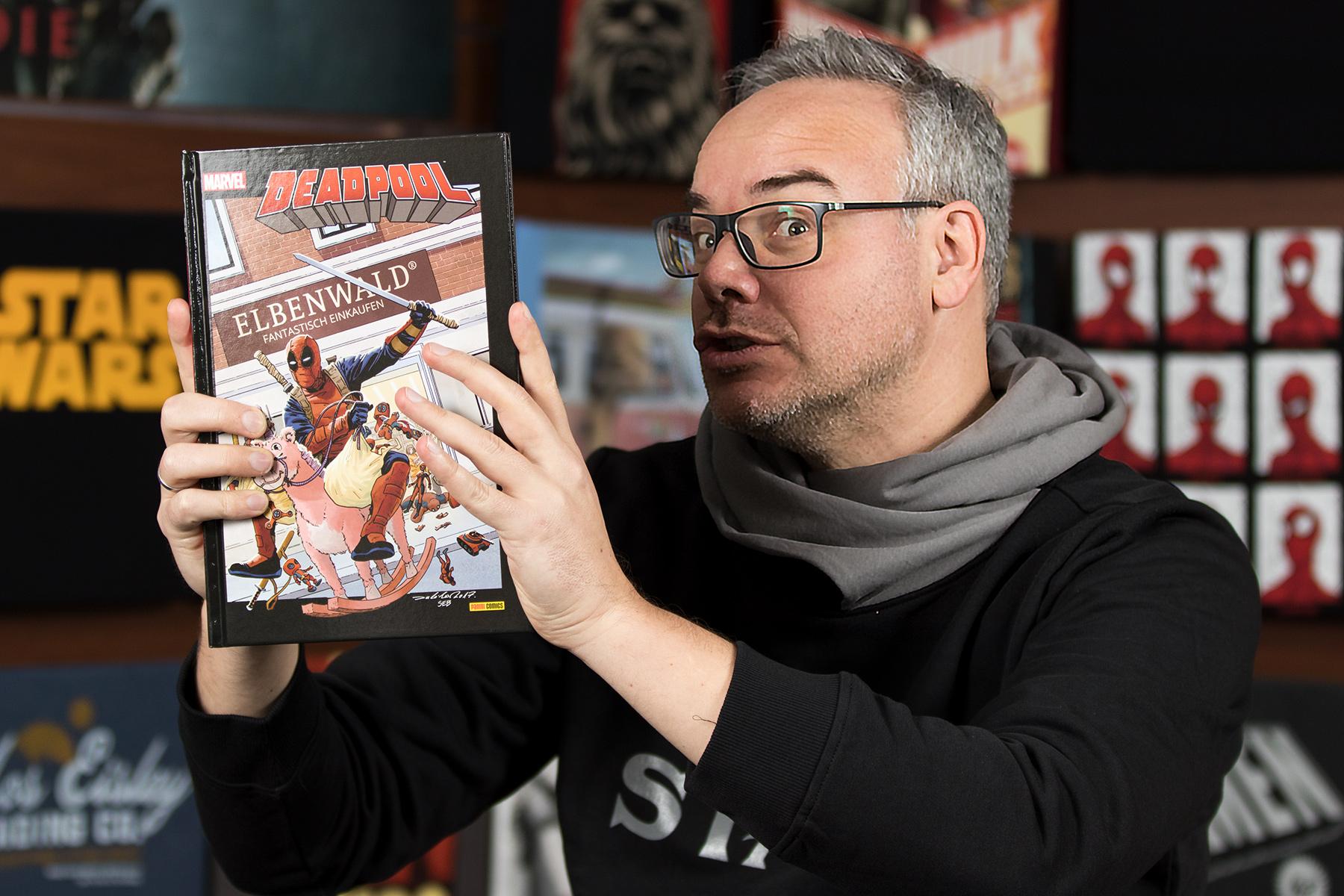 Jens Geschenketipp: Deadpool XXL - Elbenwald Edition