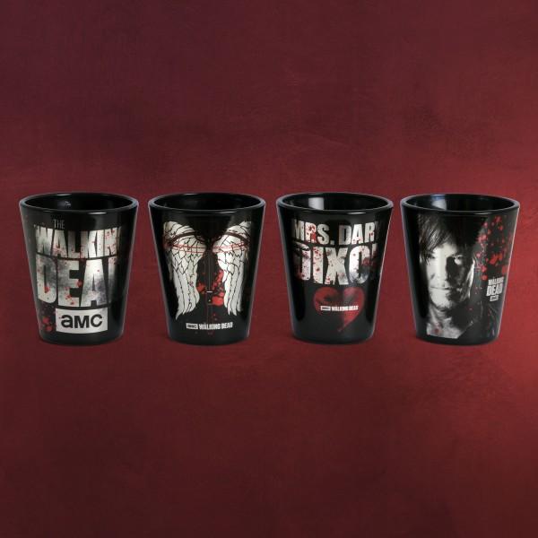Walking Dead - Daryl Dixon Gläserset 4-teilig