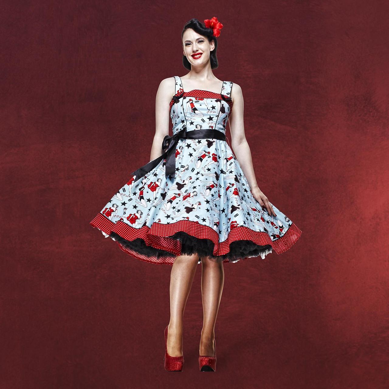 Rockabilly-Kleid Dixie | Hell Bunny | Elbenwald