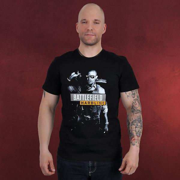 Battlefield - Hardline T-Shirt schwarz