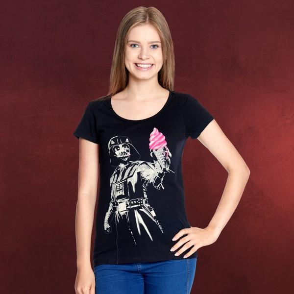 Star Wars - Darth Vader Ice Cream Girlie Shirt