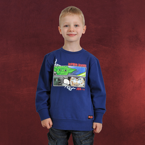 LEGO Star Wars - Yoda Chronicles Sweatshirt für Kinder blau