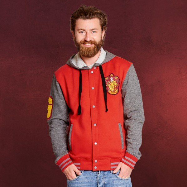 Harry Potter - Gryffindor College Jacke mit Kapuze