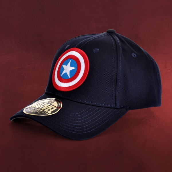 Captain America - Shield Logo Basecap
