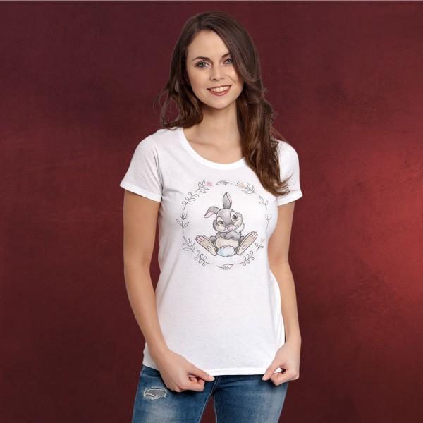 Bambi - Klopfer T-Shirt Damen weiß