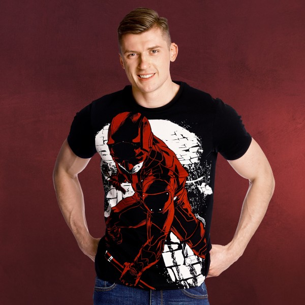Daredevil - Fight Full Size T-Shirt schwarz