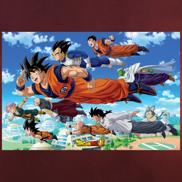 Dragon Ball Super - Goku and Friends Maxi Poster