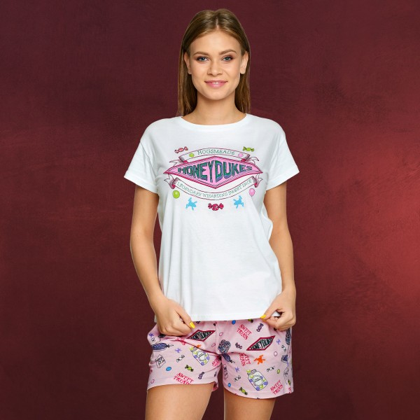 Harry Potter - Honeydukes Pyjama kurz Damen