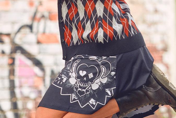 Suicide Squad - Harley Quinn Minikleid