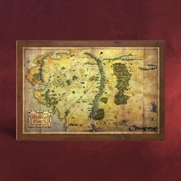 Attack On Titan Karte.Der Hobbit Die Karte Von Mittelerde