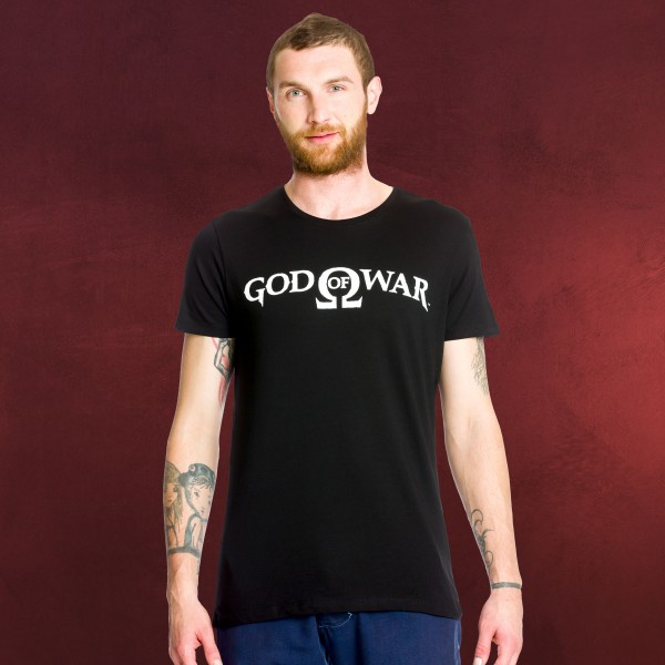 God of War - Logo T-Shirt schwarz
