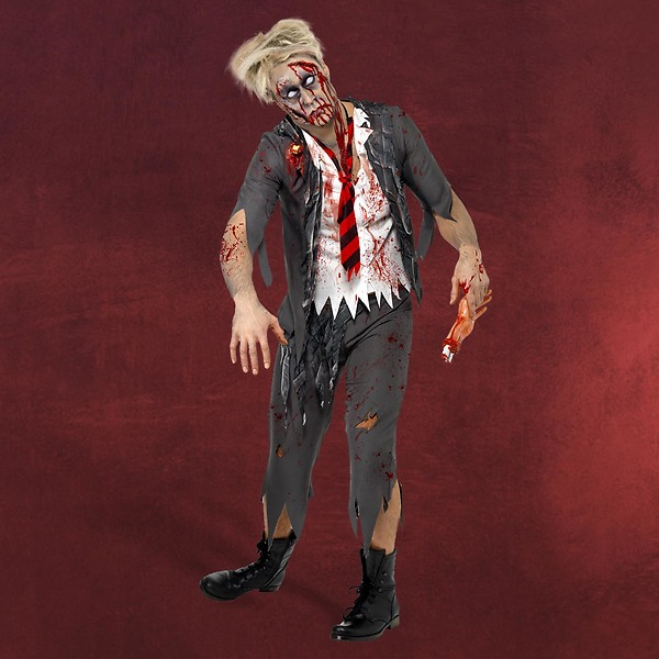Zombie High School Boy Kostüm