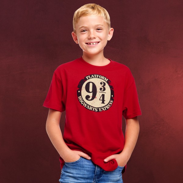 Harry Potter - 9 3/4 T-Shirt Kinder rot