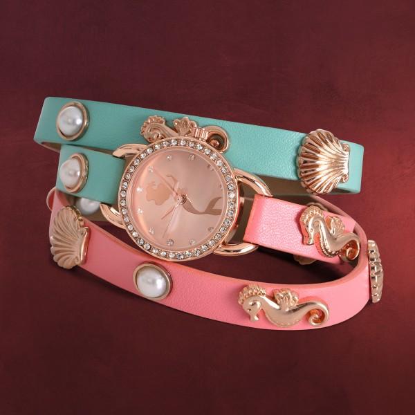 Arielle Uhr mit Wickelarmband