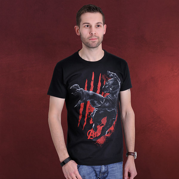 Civil War - Black Panther T-Shirt schwarz