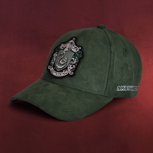 Harry Potter - Slytherin Motto Basecap grün