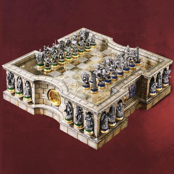 Herr der Ringe Schachspiel Premium