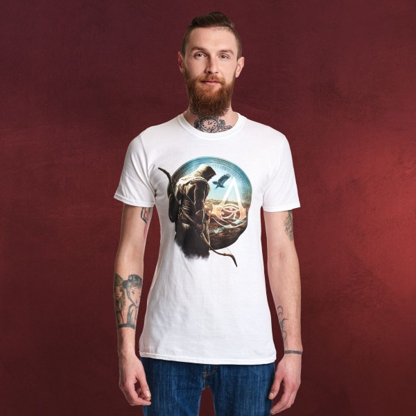 Assassins Creed - Bayek T-Shirt weiß