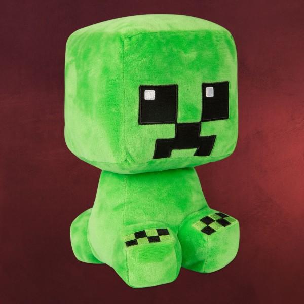 Minecraft - Crafter Creeper Plüsch Figur 24 cm grün