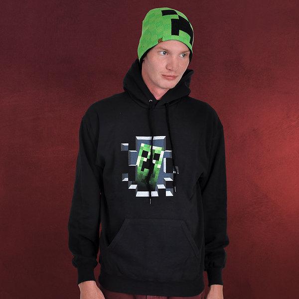 Minecraft - Creeper Inside Hoodie