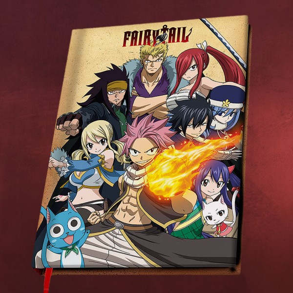 Fairy Tail - Guild Notizbuch A5