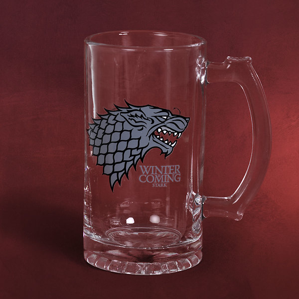 Game of Thrones - House Stark Glaskrug