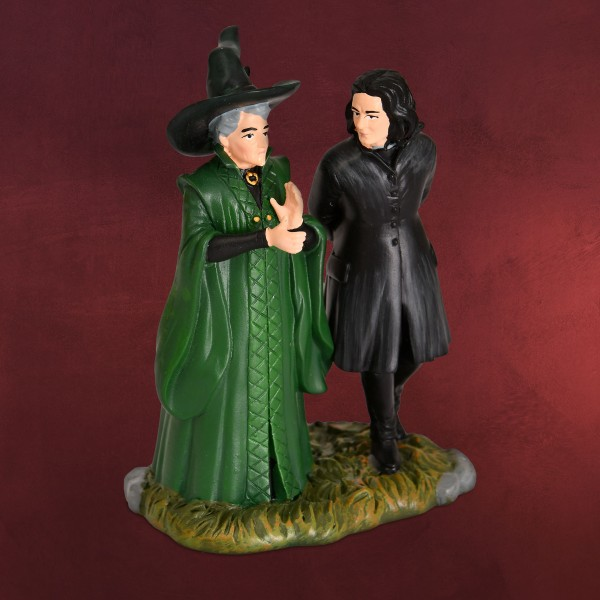 Harry Potter - Professor Snape mit Professor McGonagall Figur