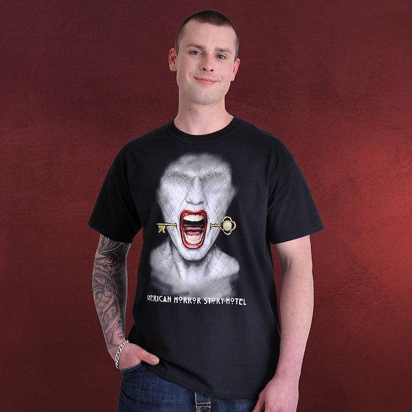American Horror Story - Hotel T-Shirt schwarz