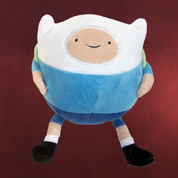 Adventure Time - Finn Plüsch-Ball blau