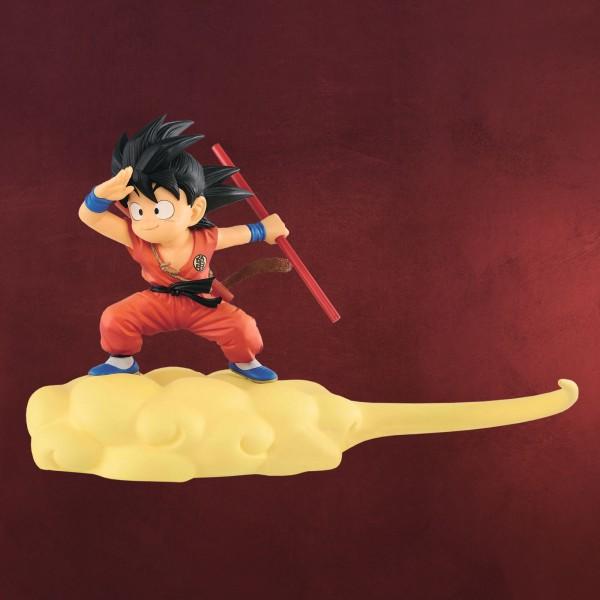 Dragon Ball - Chibi Son Goku auf Jindujun Figur 13 cm